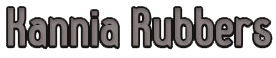 kannia rubbers